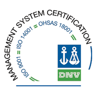 ISO 9001, ISO 14001 and OHSAS 18001 certification